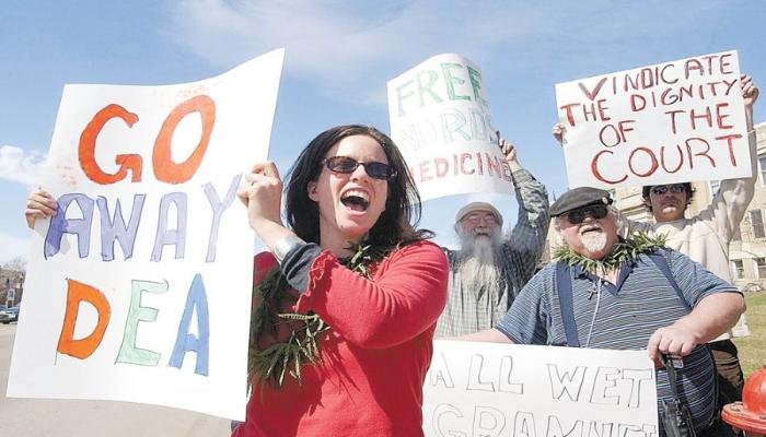 Активисты правовой реформы марихуаны