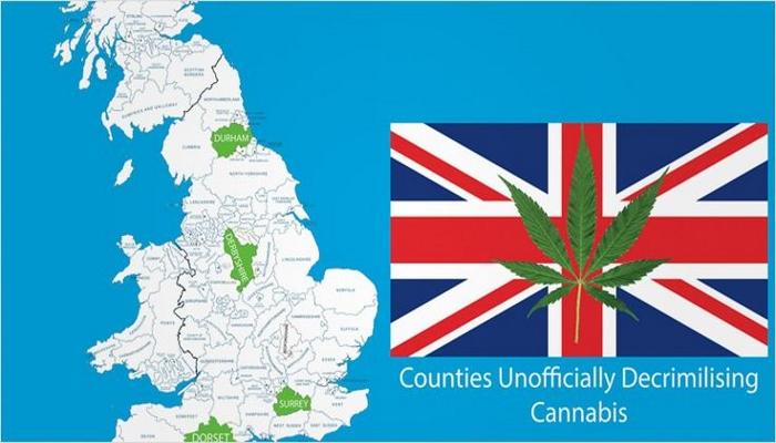 Декриминализация каннабиса в Великобритании