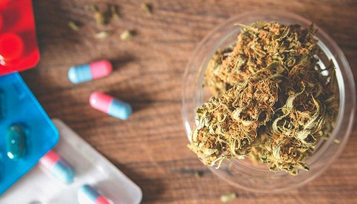 Исследование: марихуана или прохлорперазин