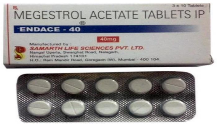Ацетат мегестрол и дронабинол в лечении синдрома истощения у больных ВИЧ