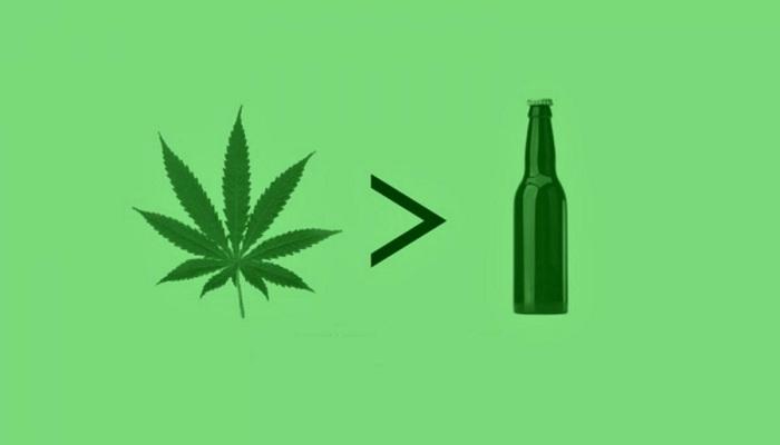 Марихуана устраняет проблемы связанные с алкоголизмом